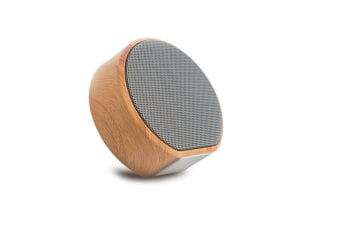 Retro Bluetooth Speaker Mini Woodwork Subwoofer Sound Black