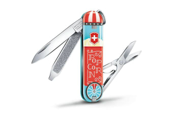 SWISS ARMY VICTORINOX CONTEST CLASSIC LET IT POP 35449 2019 LIMITED EDITION
