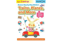 Kumon Step-by-step Stickers - Trains, Planes, And More