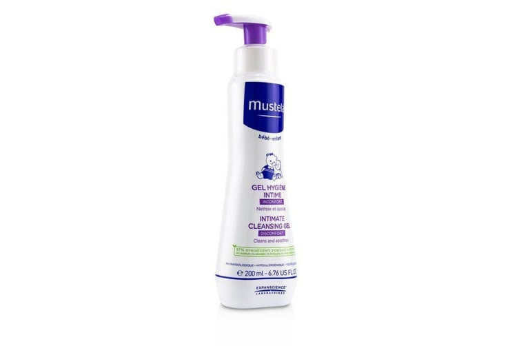 Mustela Intimate Cleansing Gel - Cleanses & Soothes 200ml