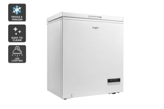 Kogan 142L Interchangeable Chest Fridge and Freezer