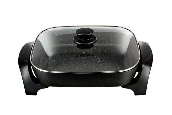 Westinghouse Large Electric Frypan - Black