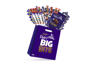 41pc Cadbury Big Bite Kids Chocolate Showbag w/Picnic/Cherry Ripe/Curly Wurly