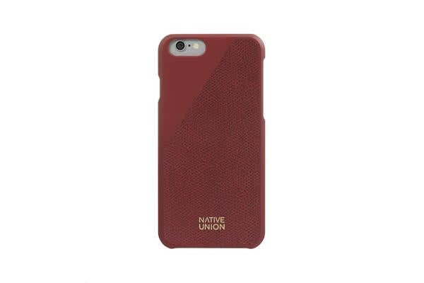 Native Union iPhone 6/S Clic Leather Case - Red