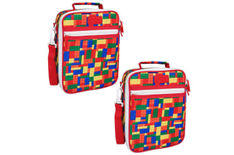 2x Sachi Thermal Insulated Picnic Lunch Tote Cooler Carry Pouch Bag Box Bricks
