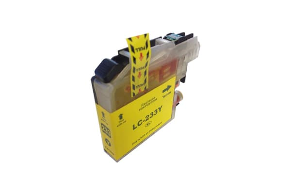 LC-233 Yellow Compatible Inkjet Cartridge