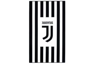 Juventus Official Deco Beach Towel (Black/White) (One Size)