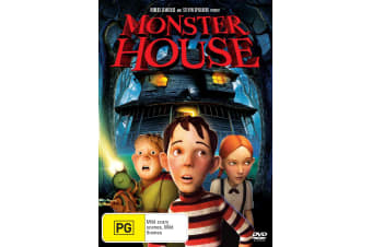 Monster House DVD Region 4