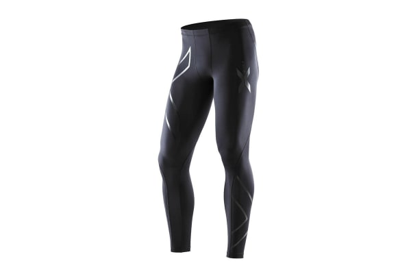 2XU Men's Recovery Compression Tights G1 (Black/Nero, Size ST)