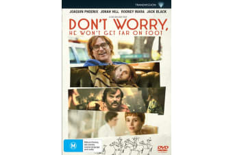 Dont Worry He Wont Get Far On Foot DVD Region 4