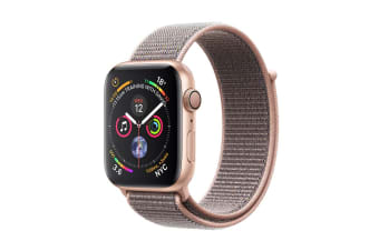 Apple Watch Series 4 (Gold, 40mm, Pink Sand Sport Loop, GPS Only)