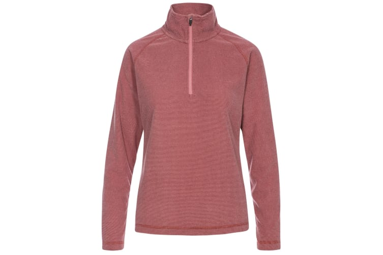Trespass Womens/Ladies Meadows Fleece (Dark Rose) (L)