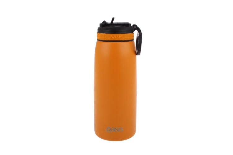 Oasis 780ml Insulated Sports Bottle With Straw - Burnt Orange