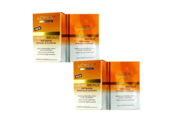 L'Oreal Sublime Bronze Self-Tanning Perfector & Corrector Duo Pack 2x8x2ml