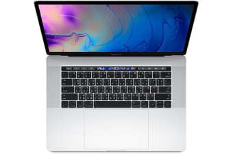 Apple Macbook Pro 15-inch 2018 512GB+16GB 2.6GHz i7 (US Keyboard) (Touch Bar) - Silver