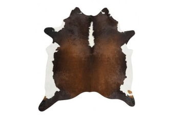Exquisite Natural Cow Hide Chocolate 170x180cm