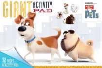 The Secret Life of Pets - Giant Activity Pad