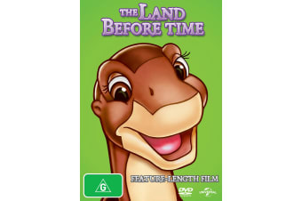 The Land Before Time DVD Region 4