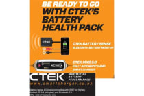 CTEK HEALTH PACK bundle MXS 5.0 12V-5AMP NG CHARGER with Temperature Compensation