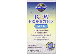 Garden of Life, RAW Probiotics, Men, 90 Vegetarian Capsules