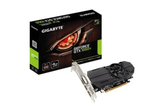 Gigabyte GeForce GTX1050Ti Graphics Card 4GB GDDR5 Low Profile support 3 Years warranty