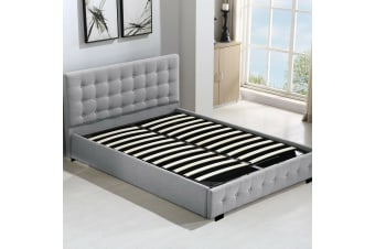 Levede Gas Lift Bed Frame Base Mattress Storage King Queen Double Size Fabric