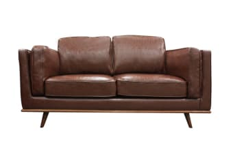 York 2 Seater Sofa (Brown)