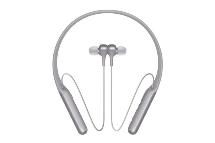 Sony Wireless Noise Cancelling In-Ear Headphones - Grey (WI-C600)