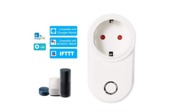 eWeLink Mini Smart WiFi Socket EU Type E Smart Plug Remote Control by Smart Phone from Anywhere Timing Function, Voice Control Compatible with Amazon Alexa and for Googl