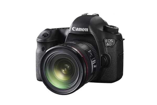 Canon EOS 6D DSLR Camera with EF 24-70mm f/4L IS USM Lens