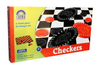 Checkers Set by Crown