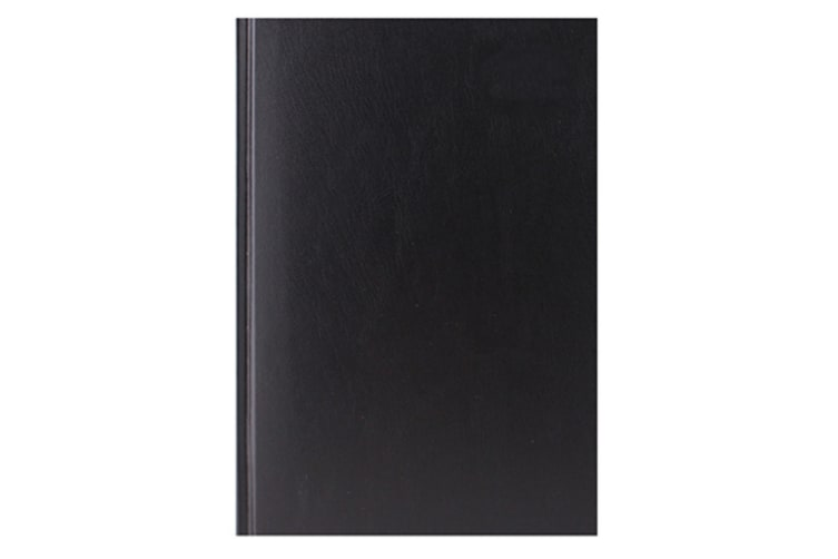 Tallon A4 Day A Page Hardback Appointments Diary (Black) (One Size)