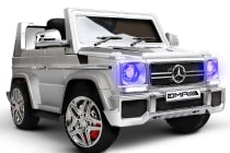 Kids Ride on Luxury Car with Remote Control (Silver)