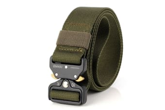 "1.7"" Military Style Shooters NylonTactical Heavy Duty Waist Belt  with Metal Buckle MilitaryGreen"
