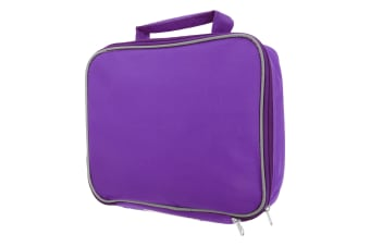 Mucky Fingers Kids Insulated School Lunch Bag (Aubergine)