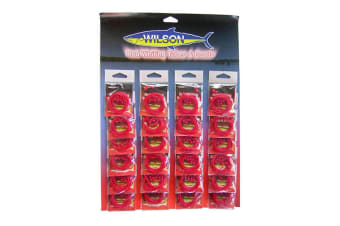 1 Packet of Wilson Red Whiting Tubes And Beads