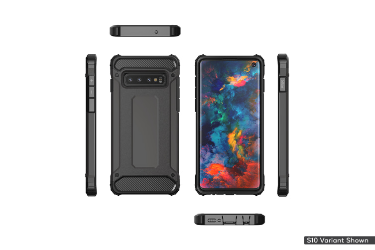Samsung Galaxy S10 Plus Shockproof Case (Black)