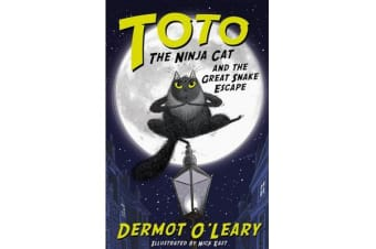 Toto the Ninja Cat and the Great Snake Escape - Book 1