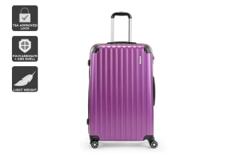 "Orbis 28"" Tahiti Spinner Luggage Case (Electric Purple)"
