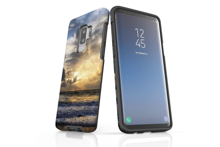 For Samsung Galaxy S9+ Plus Case Armour Cover  Romantic Sunset