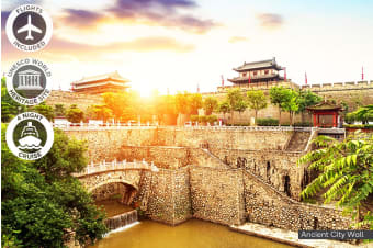 CHINA: 9 Day China & Yangtze Cruise Package Including Flights for Two