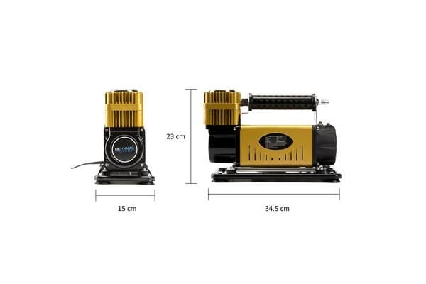 12V Air Compressor 210L/MIN - GOLD