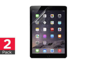 2-Pack Belkin TrueClear Transparent Screen Protector for iPad Air/Air 2 (F7N262BT2)