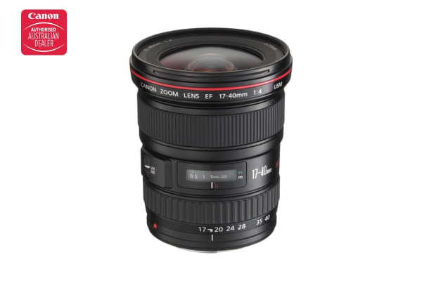Canon 17-40mm f/4L USM Lens with 77mm Diameter to suit Lens Hood EW-83E (EF17-40L EF)