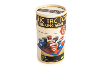 Tic Tac Toe Drinking Cup Game