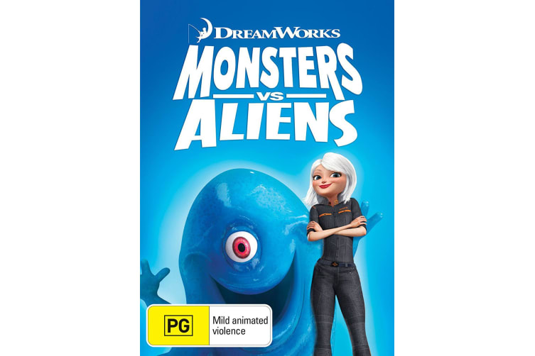 Monsters Vs Aliens DVD Region 4