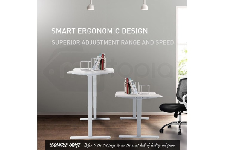 Avante Height Adjustable Standing Desk Electric Motorised Sit Stand Up Office 150cm WO