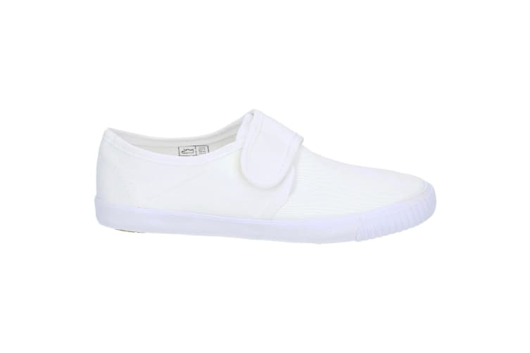 Mirak Plimsolls (BOXED) / Boys/Girls Trainers / Unisex Plimsolls (White) (5 UK Toddler)