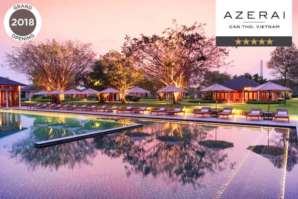 VIETNAM: 4 nights at Azerai Luxury Resort, Can Tho for Two