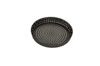 Bakemaster Perfect Crust Loose Base Quiche Pan 23x3.5cm